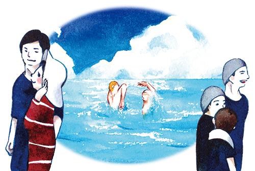 夏目漱石 こころ 第二章