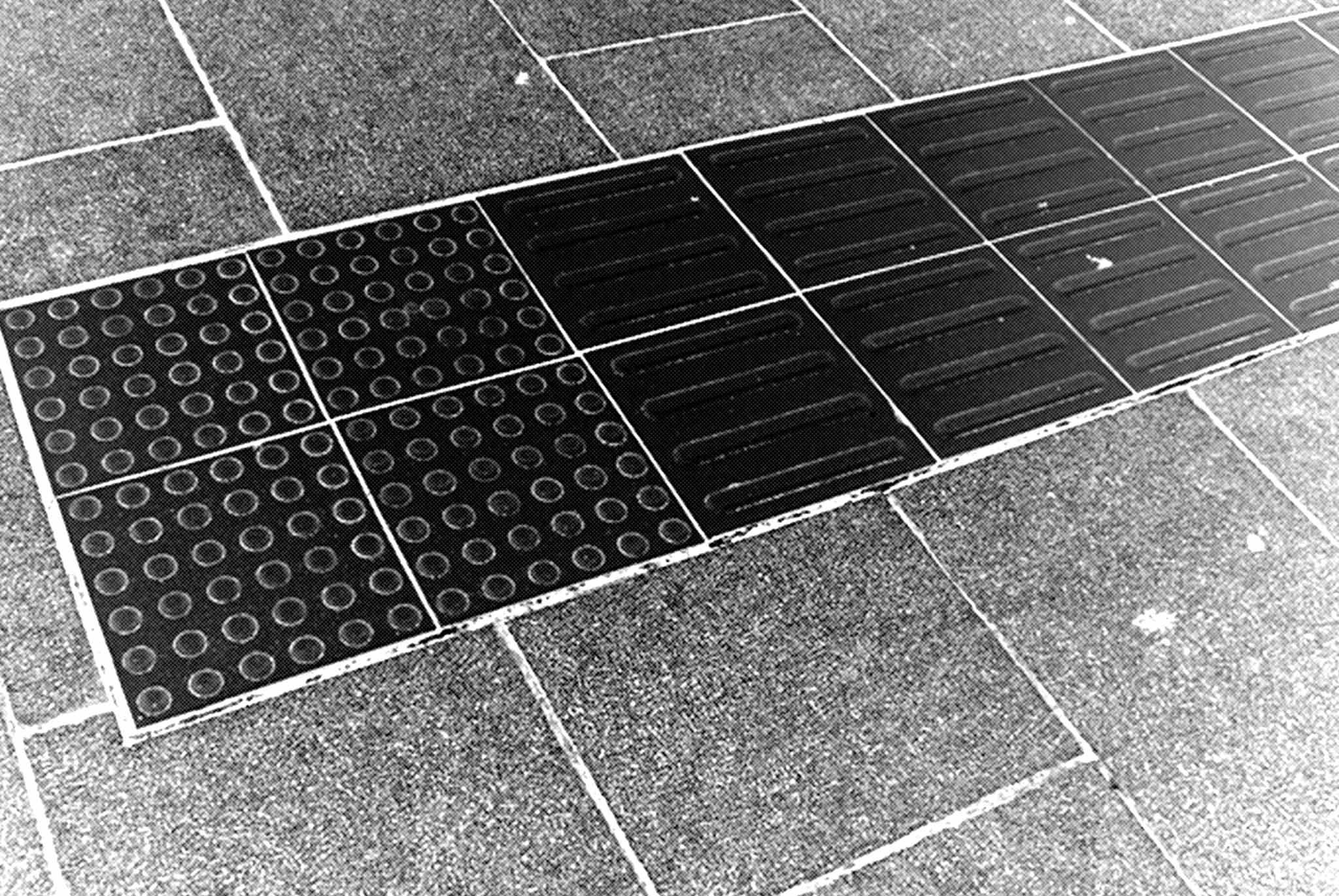 点字ブロックのある街の歩き方を知っていますか?