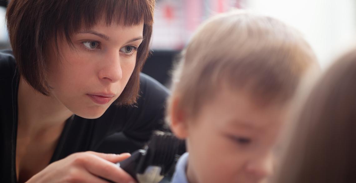 美容室が怖い!発達障害児が、笑顔で散髪を受けいれることを願って。