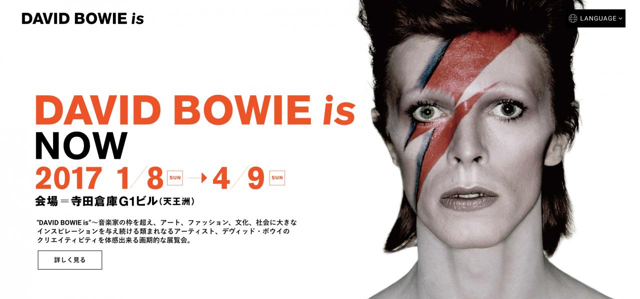 多彩すぎる影響力。デヴィッド・ボウイをおさらい「DAVID BOWIE is」展