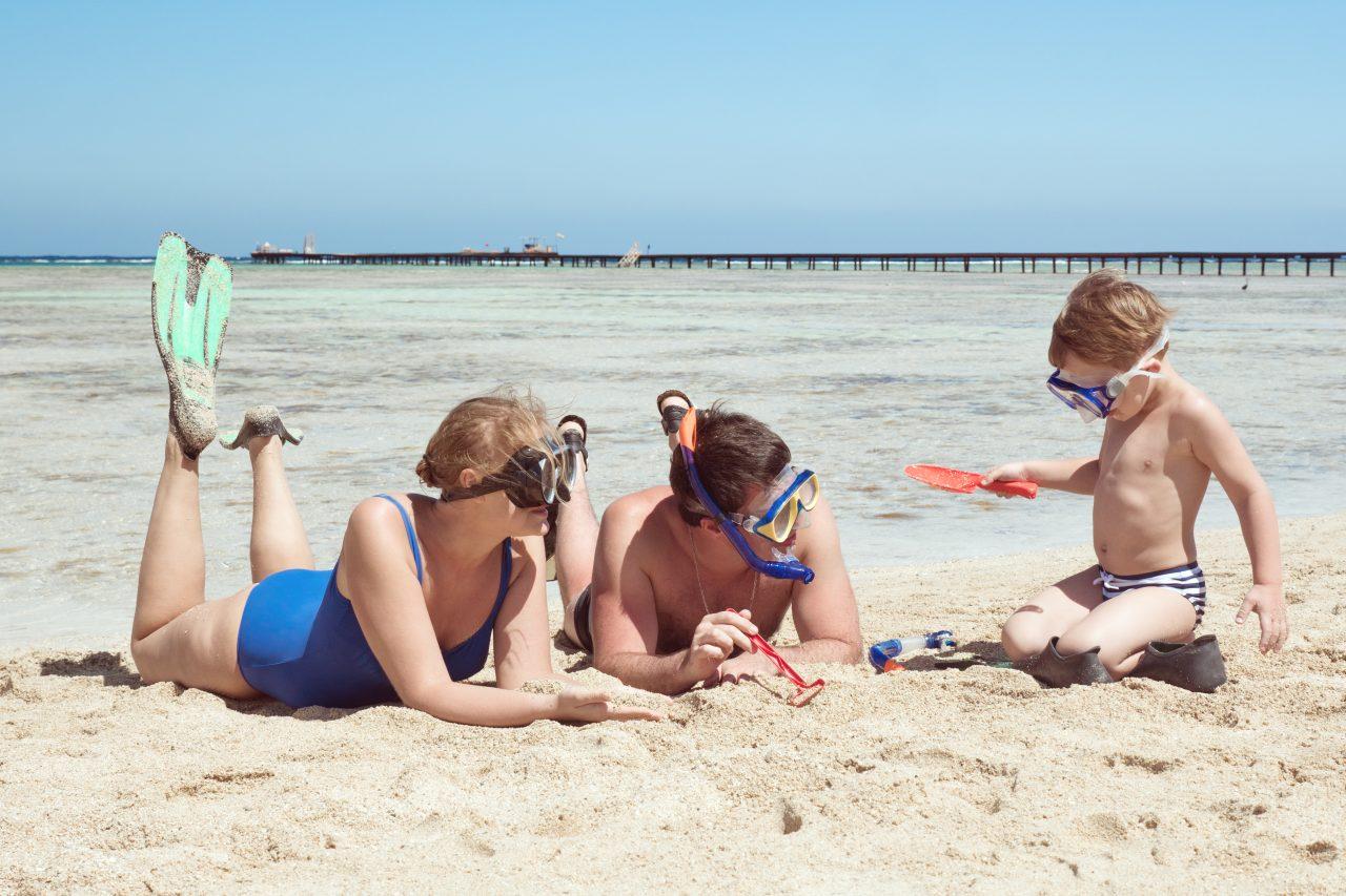 ユニバーサルビーチ…人に優しい海…。