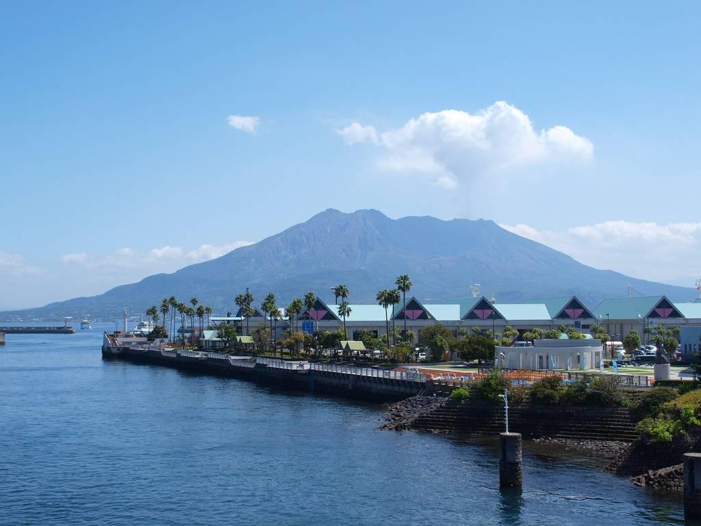 鹿児島県では当たり前の桜島降灰予報、他県からは珍しいとの声も!!