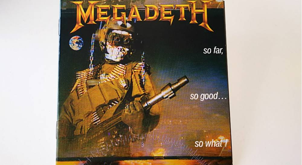 発売から30周年!Megadeth「So Far So Good… So What !」