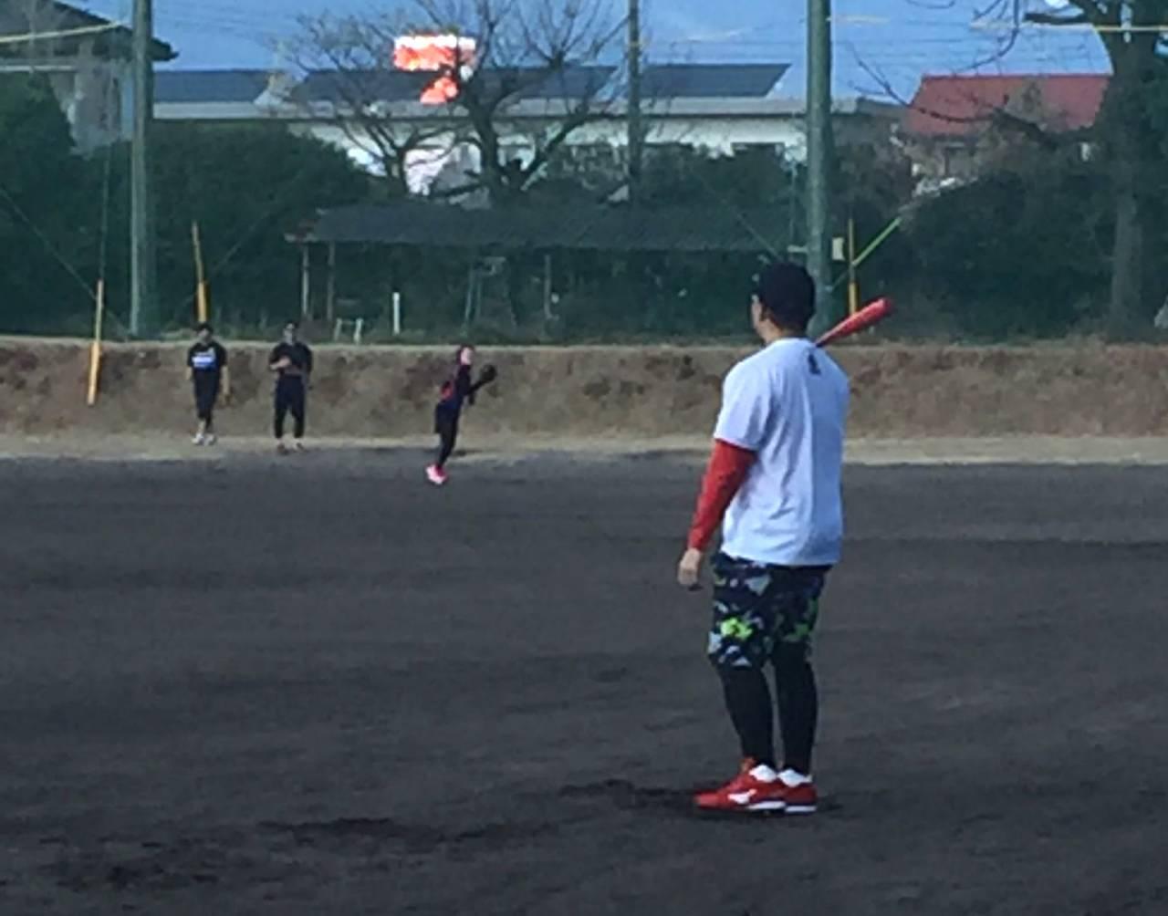 広島東洋カープ「松山竜平」選手の自主トレを見学させていただきました!