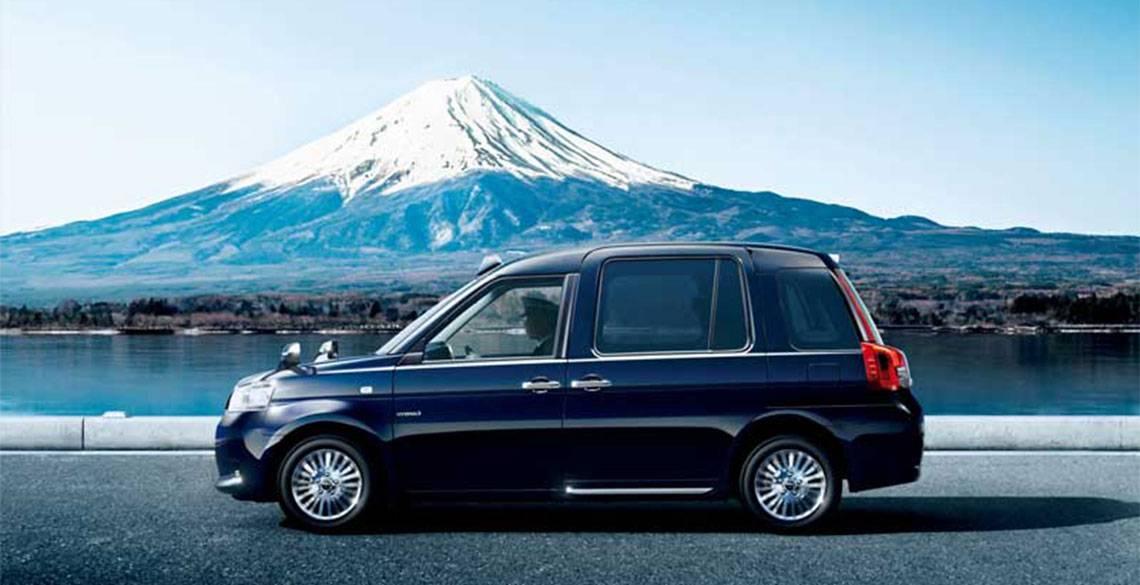 """ユニバーサルデザインの新型タクシー「JPN TAXI」で """"お・も・て・な・し"""""""